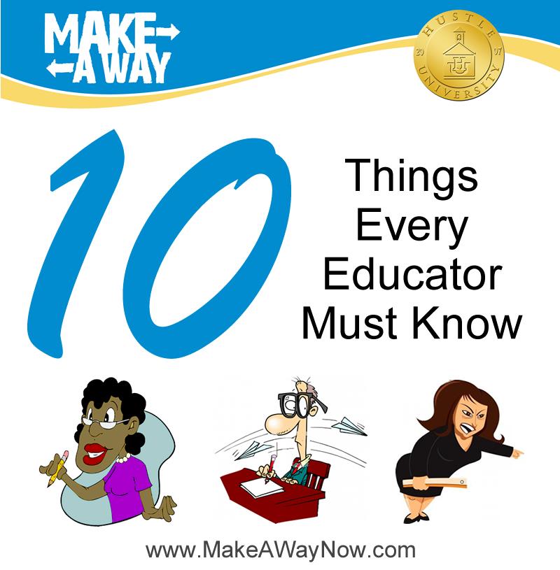 10 THINGS TEACHER ICON